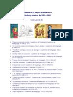 2559610 Ensenanza de La Lengua y La Literatura 19822003