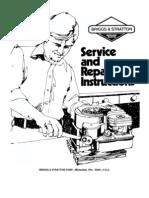 Briggs Stratton Service Manual 70076881