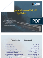 Project Management and Faith (Iman)