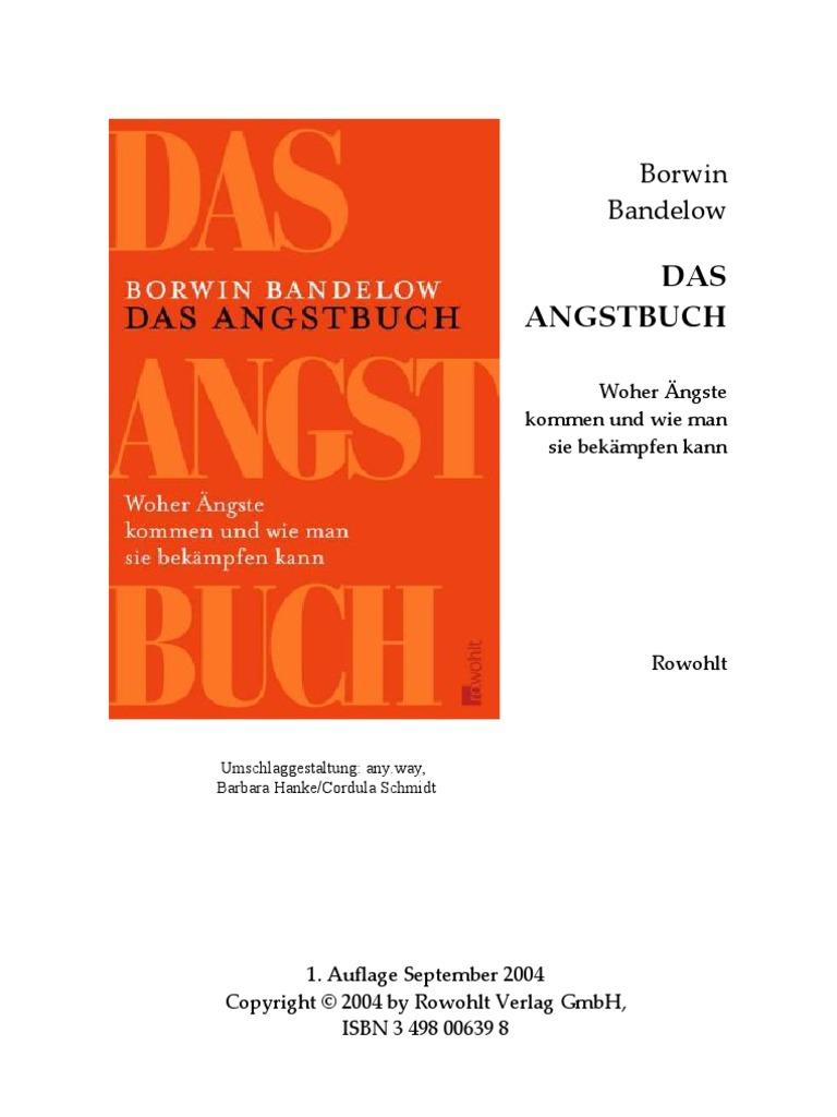 Borwin Bandelow Das Angstbuch