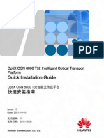 OptiX OSN 8800 T32 Intelligent Optical Transport Platform Quick Installation Guide-(13)