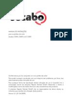 secabo_CIII manual de instruçoes da plotter