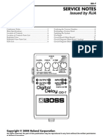 Boss DD-7 Service Notes