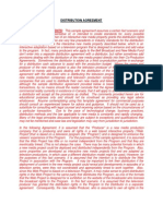 Distribution_Agreement Oregon Law