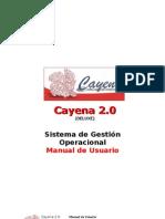 Manual de Cayena 2.0 a