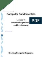 Lecture 10-Software Development