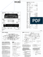 Boss RSD-10 Service Notes