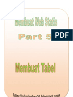 Part 5 Cara Membuat Tabel Di HTML