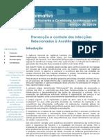 BOLETIM INFORMATIVO SEGURANÇA DO PACIENTE -PREVENÇÃO E CONTROLE DAS INFECÇÕES RELACIONADAS À ASSISTÊNCIA