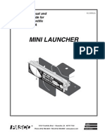Mini Launcher Manual ME 6825A