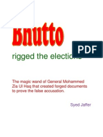 Bhutto Rigged the Election. Did he?  A study by Syed Jaffer