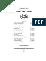 Laporan Akhir Praktikum i Steril 2011