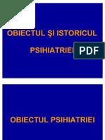 1. Obiectul +Pi Istoricul Psihiatriei