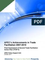 2011 Psu TFAP II Final Assessment Sum Rpt