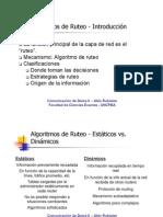 Algoritmos de Ruteo I