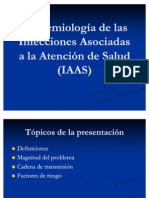 Epidemiología de las IIH 1
