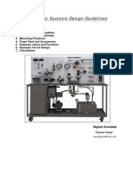 Hydraulic Systems Design Guidelines
