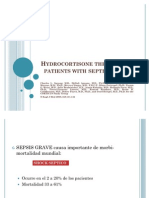 Hydro Cortisone Therapy for Patients With Septic Shock