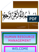 HRM F4 Planning