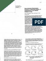 Lisa H. Gold et al- Neurochemical Mechanisms Involved in Behavioral Effects of Amphetamines and Related Designer Drugs
