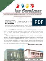 Noticias Escolares Nº 2