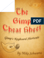 The Gimp 2.6 Cheat Sheet