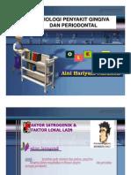 Pe 142 Slide Etiologi Penyakit Gingiva Dan Periodontal