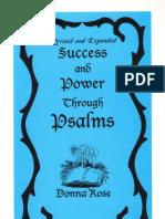 Success Power Through Psalms