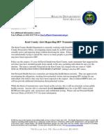 Kent County Press Release December 27, 2011