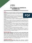 La Une Des Journaux Du Vendredi 04 Novembre 2011