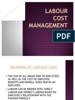 Labour Cost Management