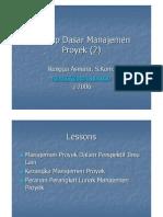 02 - Konsep Dasar Manajemen Proyek