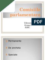 Comisiile parlamentare