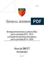 Analiza SWOT SIBIU