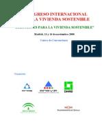 I Congreso Internacional Para La Vivienda Sostenible.pdf
