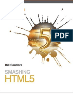 smashing html5 by bill sanders
