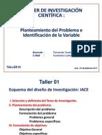 Taller Del Problema e Identificacion de Las Variables