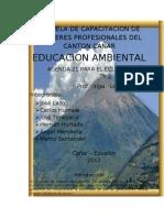 ESCUELA DE CAPACITACION DE CHOFERES PROFESIONALES DEL CANTON CAÑAR