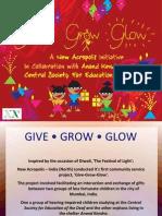 Give Grow Glow