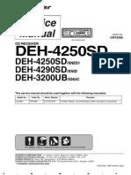 C4505 DEH-4250SD, DEH-4290SD, DEH-3200UB