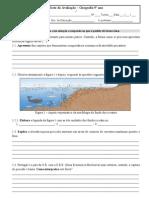 Teste 9º ano Geografia Pescas e energia-