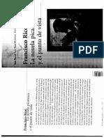 La Novela Picaresca y El Punto de Vista (1)