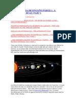 UNA HISTORIA DE ENGAÑO PARTE 1 Estatuillas de astronautas y mas