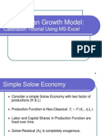 Solow-Swan Growth Model