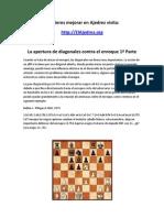 La apertura de diagonales contra el enroque 1ª Parte