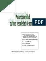 Postmodern Id Ad, Cultura y Sociedad de Consumo