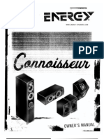 Connoisseur Series Manual 2011