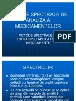 Metode Spectrale de Analiza a Medicamentelor