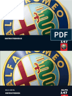 Alfa Romeo 147 instructieboek - handleiding