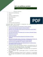seminários serviço social e as politicas